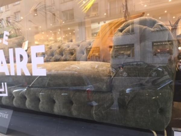 Canapé solde -50% 216 - Passy Paris 75016