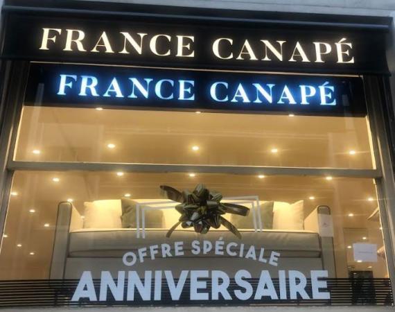 Canapé solde -15% 166 - Trocadéro Paris 75016