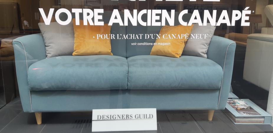 Canapé solde -20% 396 - Entrepreneurs Paris 75015
